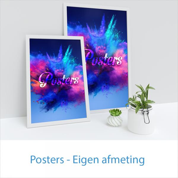 posters eigen afmeting